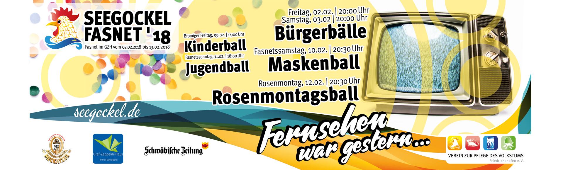 Seegockel Fasnet 2018