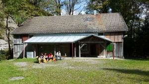 Gockelausflug 2015 auf die Bengathhütte in Mellau