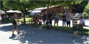 12. Boule-Turnier der Seegockel beim Boule Club Friedrichshafen