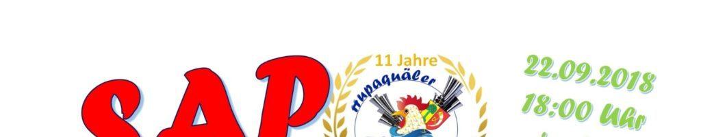 Einladung zur SommerAbschlussParty der Hupaquäler