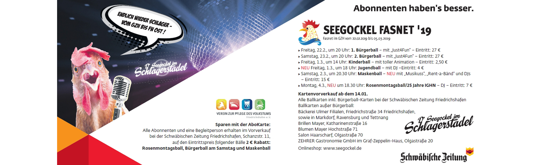 Seegockelfasnet 2019